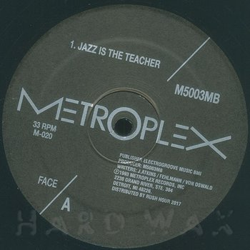Cover art - M500 & 3MB: Jazz Is The Teacher