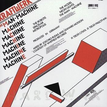 Cover art - Kraftwerk: The Man Machine