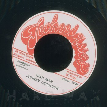 Cover art - Johnny Osbourne: Niah Man