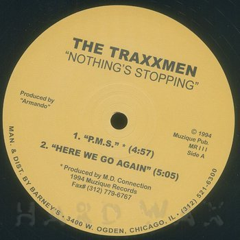 Cover art - The Traxxmen: Nothings Stopping EP