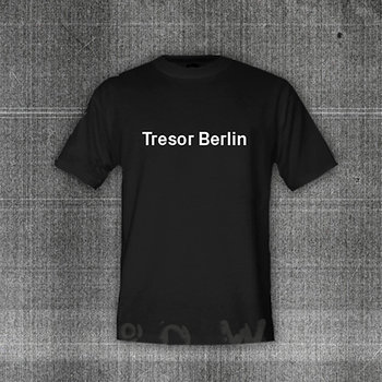 "Cover art - T-Shirt, Size M: ""Tresor.Berlin"", Black"
