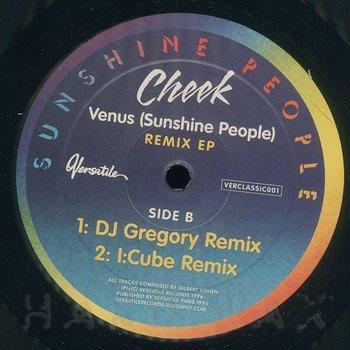 Cover art - Cheek: Venus (Sunshine People) - Remix EP
