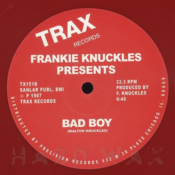 Cover art - Frankie Knuckles: It's A Cold World