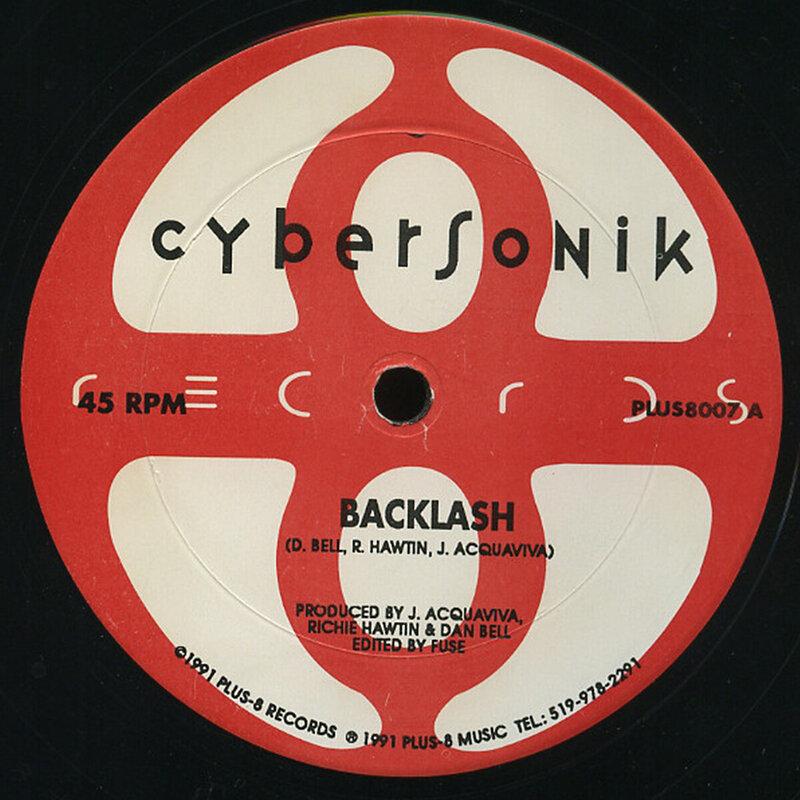 Cover art - Cybersonik: Backlash