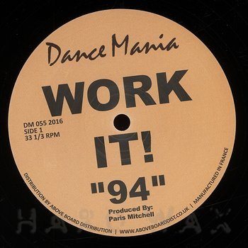 "Cover art - Parris Mitchell & R.J. Hall: Work It! ""94"""