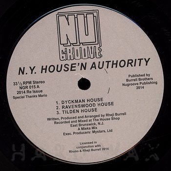 Cover art - N.Y. House 'N Authority: Dyckman House