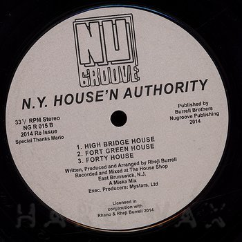 Cover art - N.Y. House'n Authority: Dyckman House