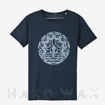 Cover art - T-Shirt, Size XL: Workshop 09, dark navy w/ light gray print