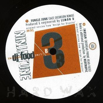 Cover art - DJ Food: Refried Food Pts. 3 & 4