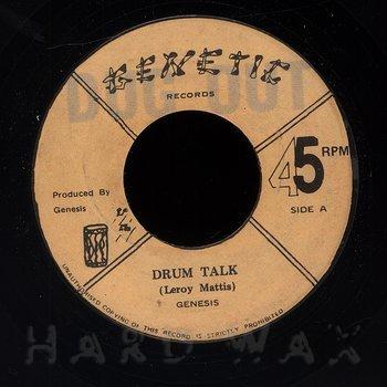 Cover art - Genesis: Drum Talk