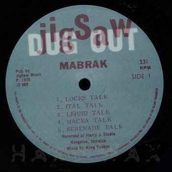 Cover art - Mabrak: Drum Talk