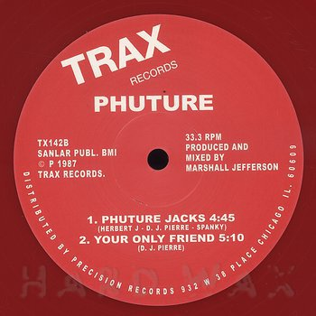 Cover art - Phuture: We Are Phuture