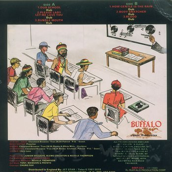 Cover art - Junior Delgado: Dub School: A Junior Delgado Showcase