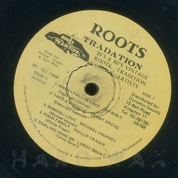 Cover art - Various Artists: Roots Tradition