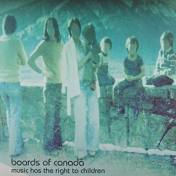 Cover art - Boards Of Canada: Music Has The Right to Children