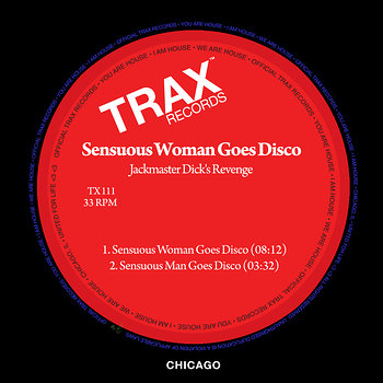 Cover art - Jackmaster Dick's Revenge: Sensuous Woman Goes Disco