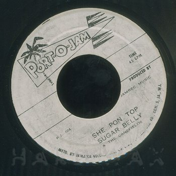 Cover art - Sugar Belly & The Canefields: She Pon Top