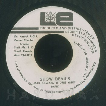Cover art - Max Edwards: Show Devils
