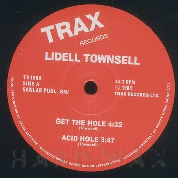 Cover art - Lidell Townsell: Get The Hole