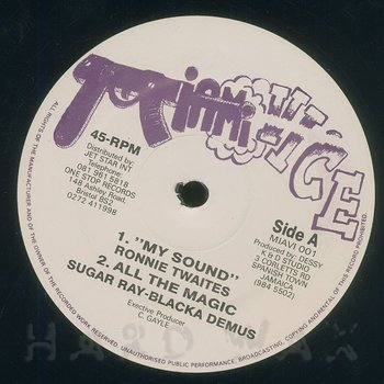 Cover art - Ronnie Thwaites: My Sound