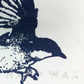 Cover art - T-Shirt, Size M: Workshop 04, white w/ navy print