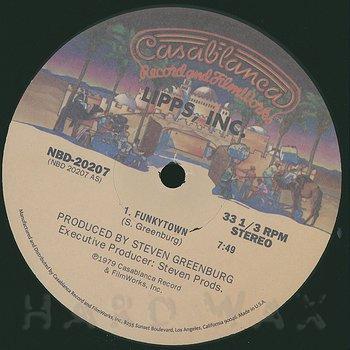 Cover art - Lipps, Inc.: Funkytown