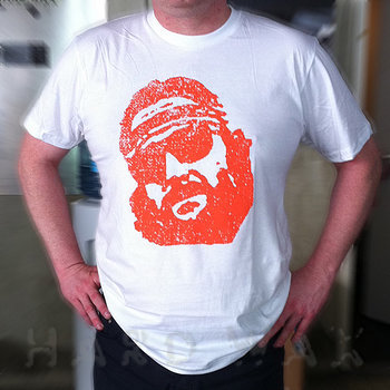 Cover art - T-Shirt, Size XL: Workshop 12, white w/ orange print