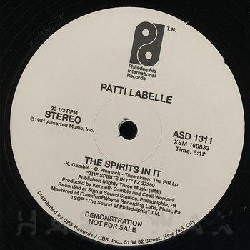 Cover art - Patti Labelle: The Spirits In It