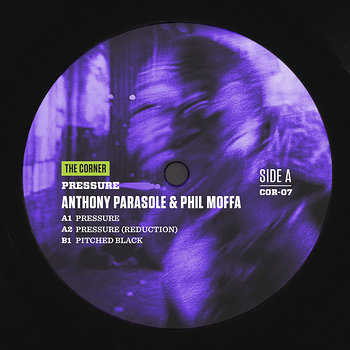 Cover art - Anthony Parasole & Phil Moffa: Pressure