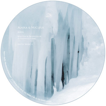 Cover art - Alaska & Nucleus: Aufeis