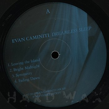 Cover art - Evan Caminiti: Dreamless Sleep