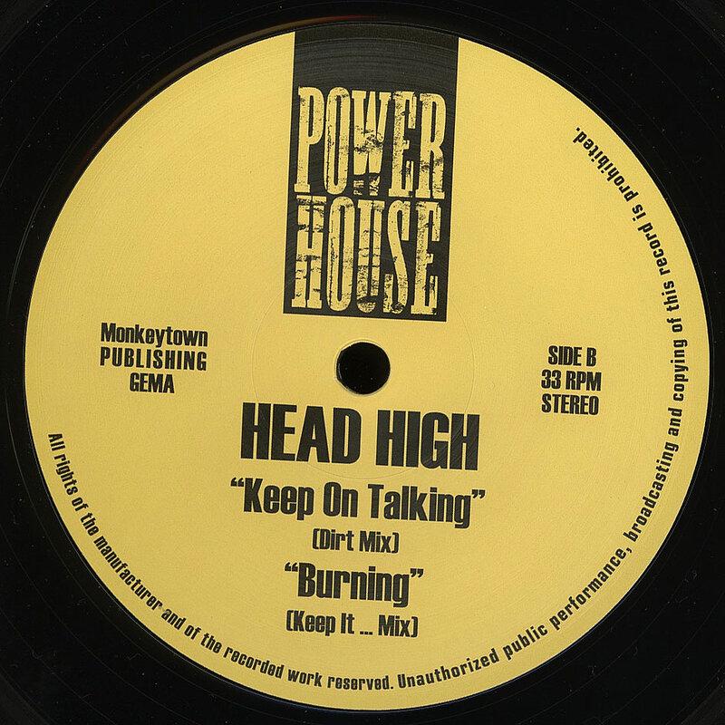 Cover art - Head High: Burning
