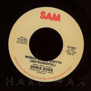 Cover art - Doris Duke: Woman Of The Ghetto