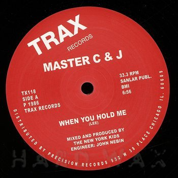 Cover art - Master C & J: When You Hold Me