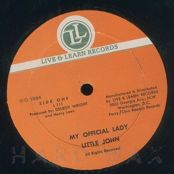 Cover art - Little John: My Official Lady
