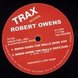 Cover art - Robert Owens: Bring Down The Walls