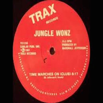 Cover art - Jungle Wonz: Time Marches On