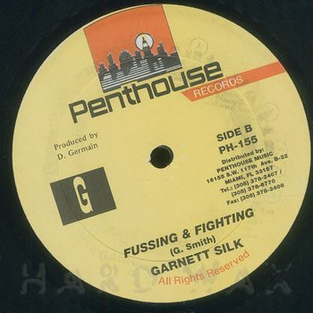 Cover art - Garnet Silk: Fussing & Fighting
