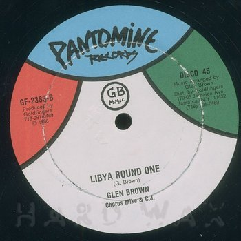 Cover art - Glen Brown: Libya Round One