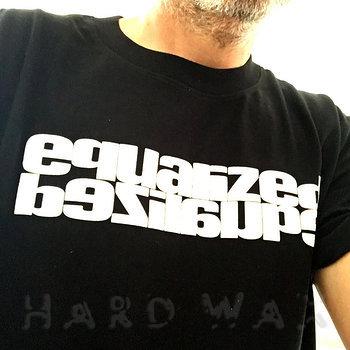 Cover art - Organic T-Shirt, Size XXL: EQD#2021 - Black