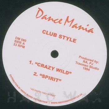 Cover art - Club Style: Crazy Wild