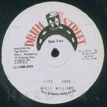 Cover art - Willie Williams: Righteouness