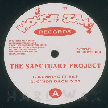 Cover art - The Sanctuary Project: Running It
