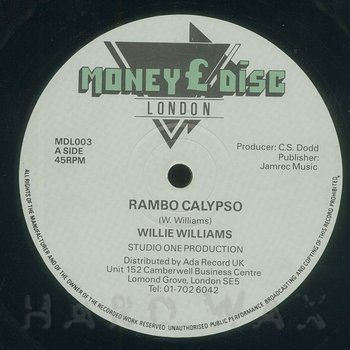 Cover art - Willie Williams: Rambo Calypso