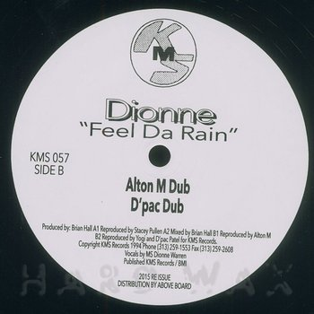 Cover art - Dionne: Feel Da Rain