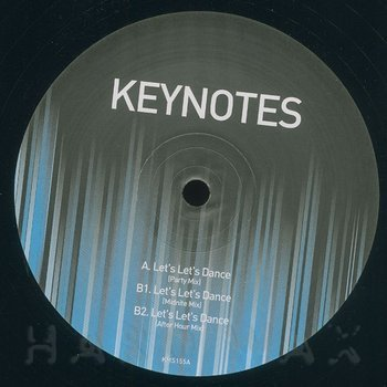 Cover art - Keynotes: Let's Let's Dance