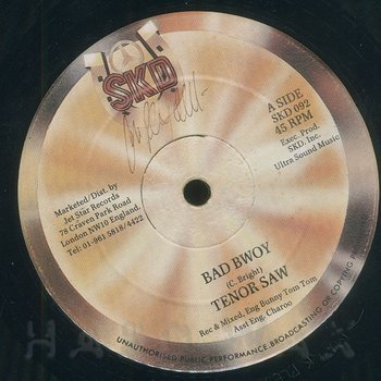 Cover art - Tenor Saw: Bad Bwoy