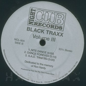 Cover art - Black Traxx: Volume III
