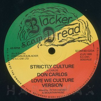 Cover art - Don Carlos: Strictly Culture