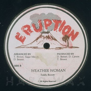 Cover art - Teddy Brown: Weather Woman